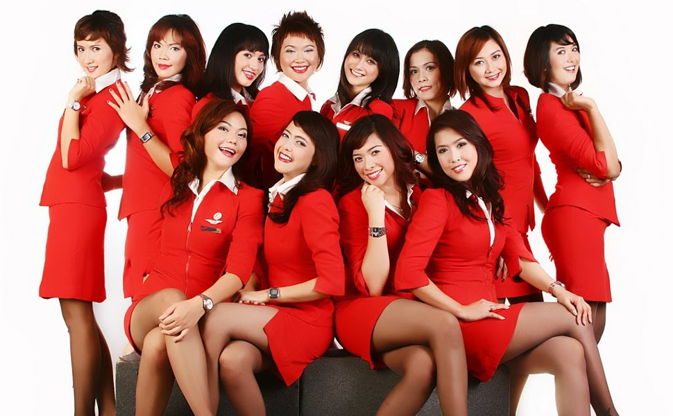 AirAsia's crew members
