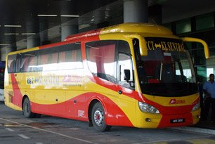 Aerobus - Bus from KL Sentral to klia2