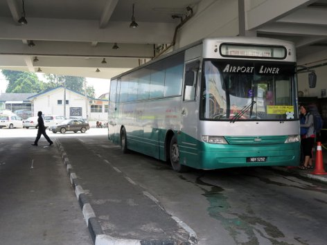 Airport Liner at Nilai Bus & Taxi Terminal