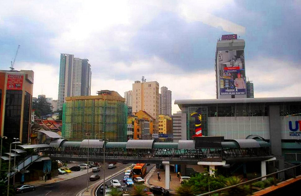 View of Pudu Sentral from Maybank tower