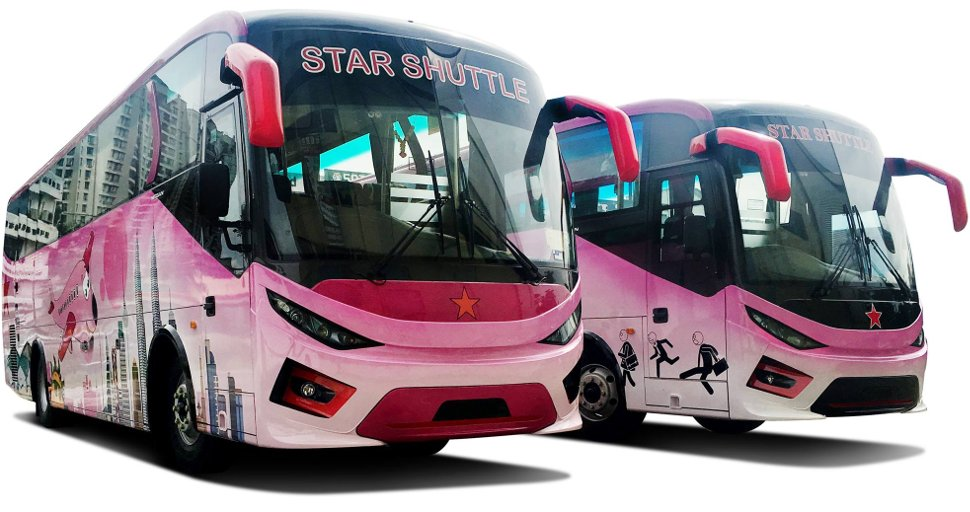 Star Shuttle buses