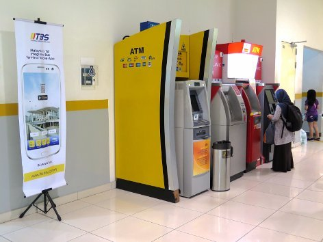 ATM machines for your convenience
