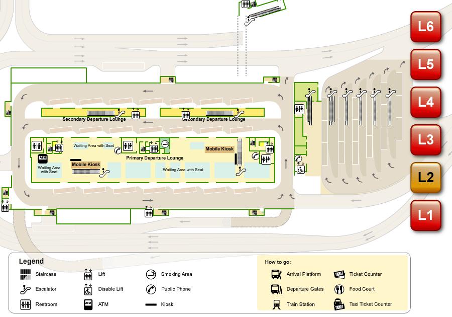 Terminal Bersepadu Selatan Tbs Kuala Lumpur S Integrated Transport Terminal
