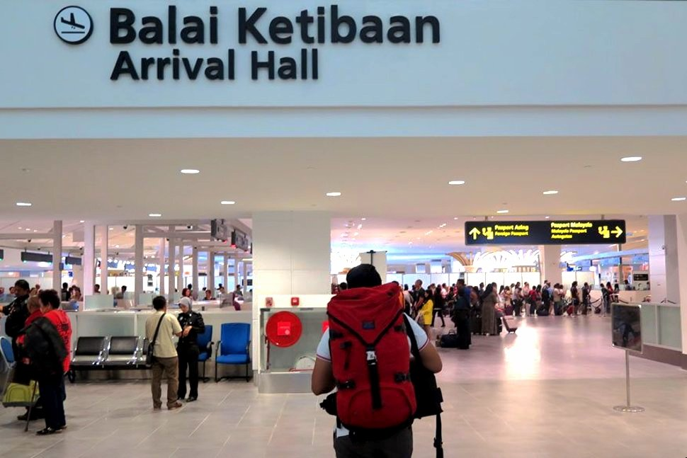 Arrival Hall at the klia2
