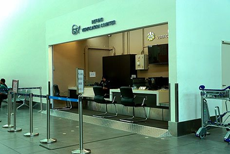GST Refund Verification Counter