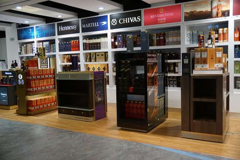 Eraman Duty Free near Gate L12 & L14