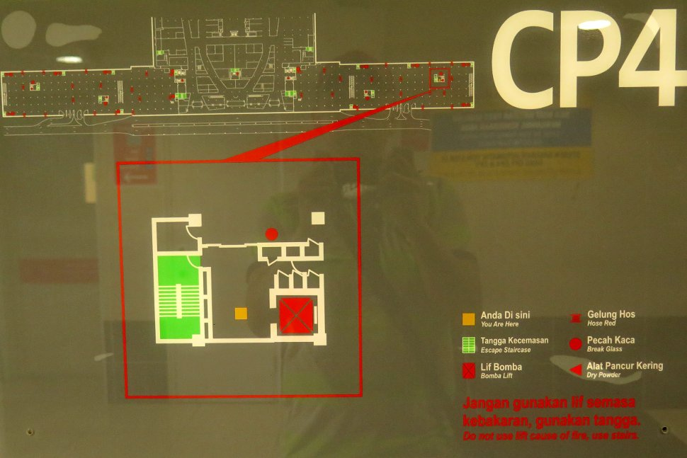 Layout plan for CP4