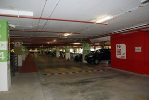 Parking facility, klia2