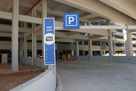 Entrance of klia2 Parking Facility