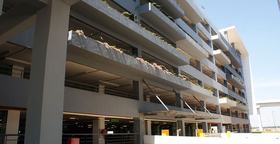 8-storey klia2 Parking Facility