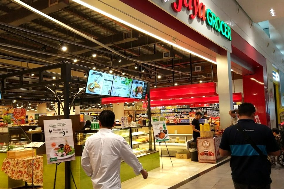 The Jaya Grocer supermarket at klia2