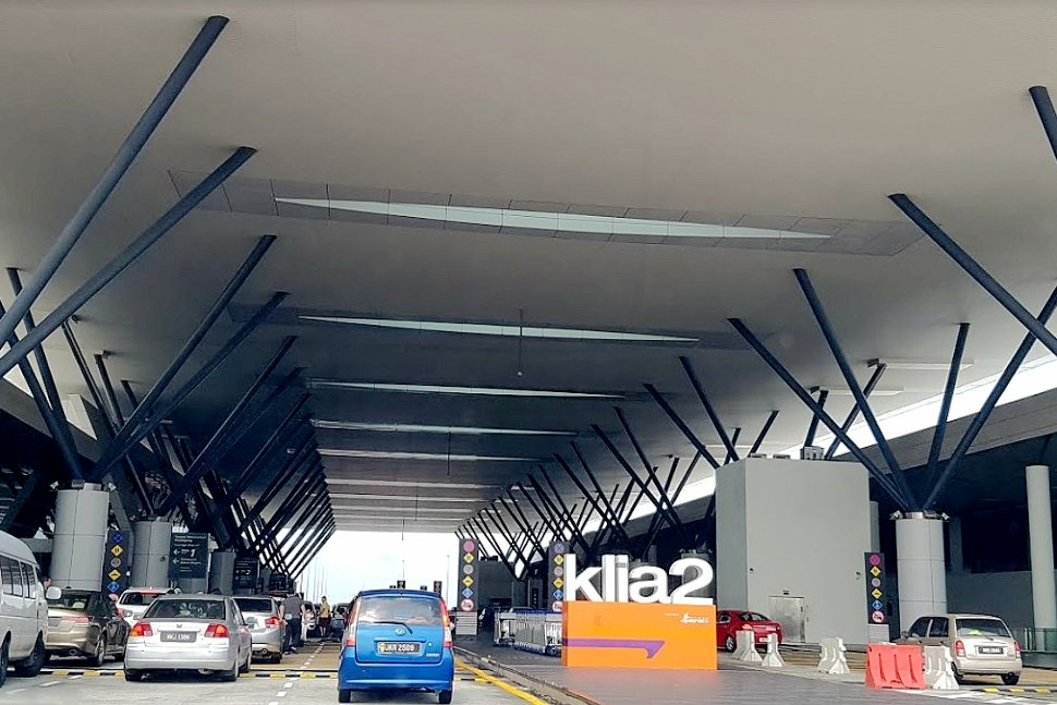 Departure drop-off area at level 3 of Gateway@klia2 Mall