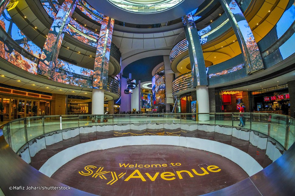 Sky Avenue mall at Genting Highlands