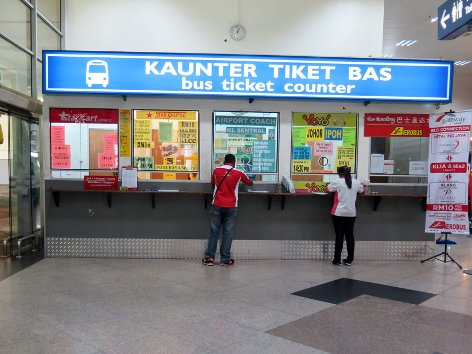 Bus services at KLIA