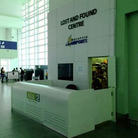 Lost and Found Centre, klia2