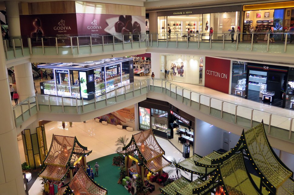 Shops at Nu Sentral shopping mall