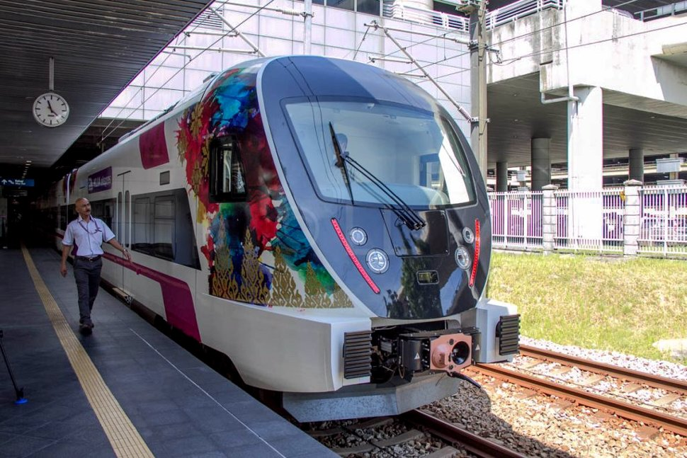 New KLIA Ekspres train in services