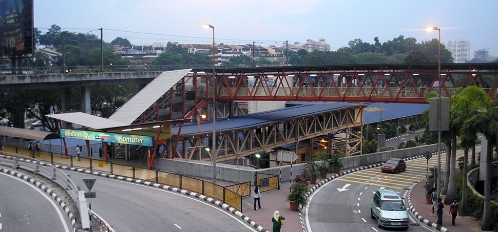 Mid Valley KTM Komuter station