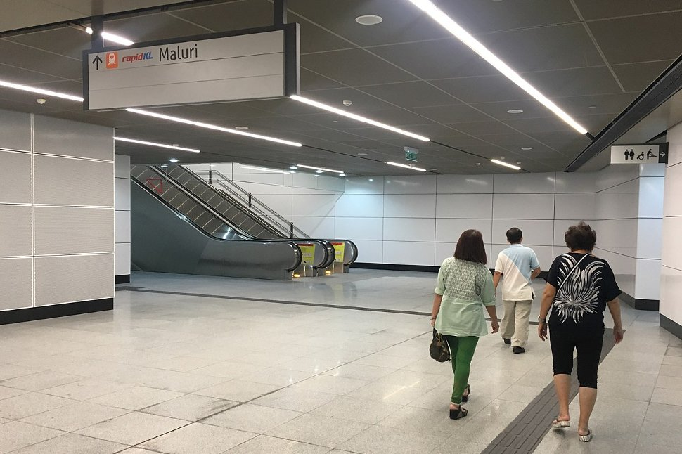 Entrance C: LRT-MRT Linkway