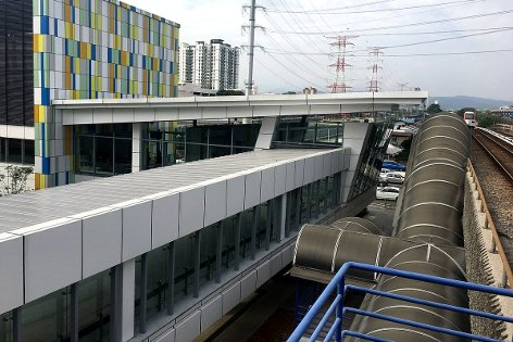 A Paid-To-Paid link will connect the Maluri MRT station to the Maluri LRT station.