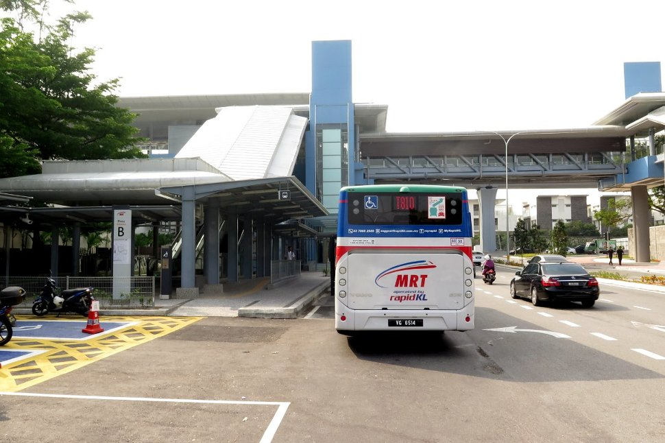 Entrance B at Mutiara Damansara station