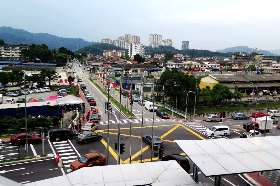 Surrounding housing estates near Taman Suntex station