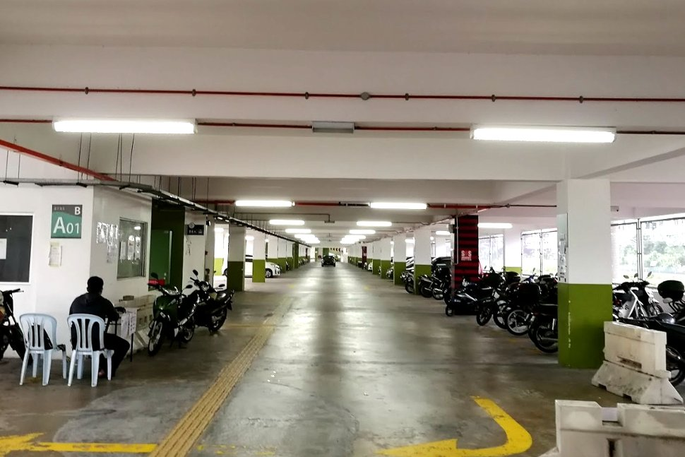 Car park facility near KTM station