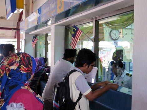 Ticket counters, Seremban KTM Komuter Station