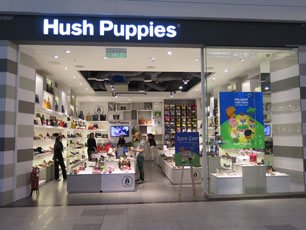 Hush Puppies at klia2