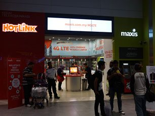 Maxis & Hotlink, Level 2, Gateway@klia2