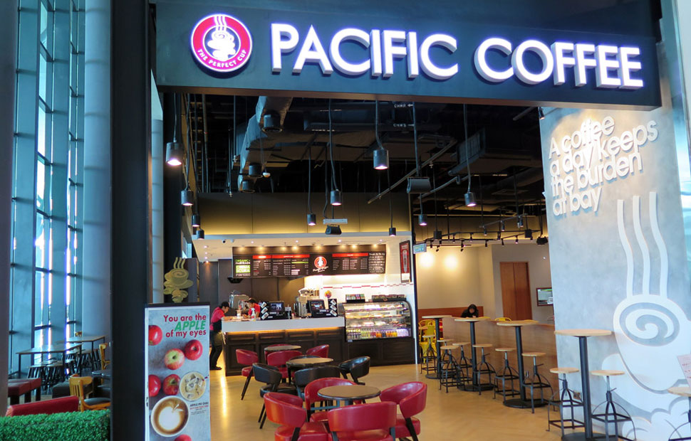 Pacific Coffee, klia2