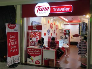 Tune Store at klia2