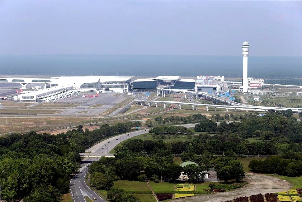 Aerial view of klia2 terminal