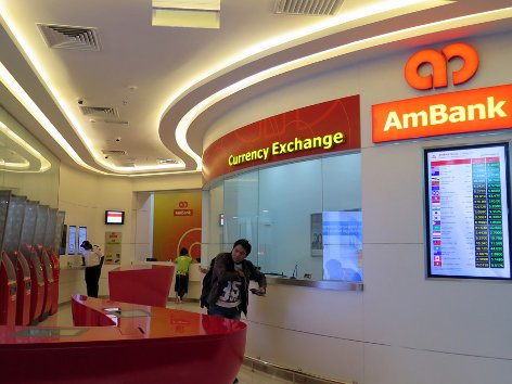 AmBank Currency Exchange Counter