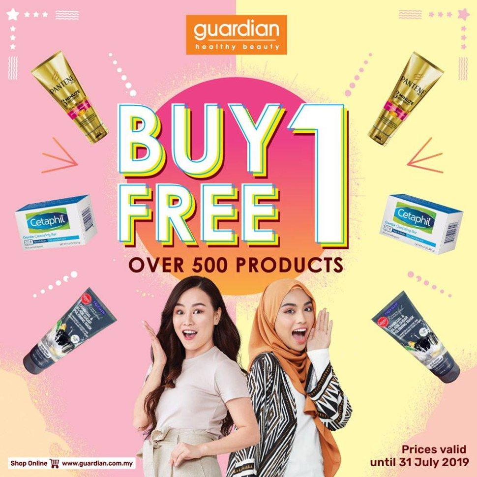 Guardian's Buy 1 Free 1 Promotions