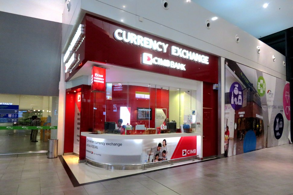 CIMB Currency Exchange at level 2 of Gateway@klia2 mall
