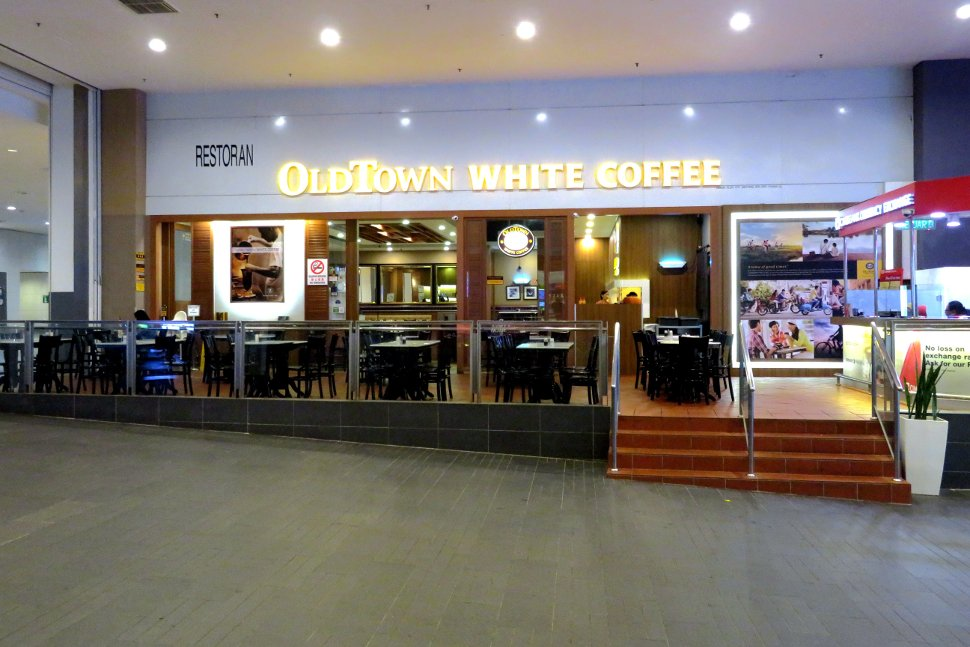 OldTown White Coffee near Arrival hall
