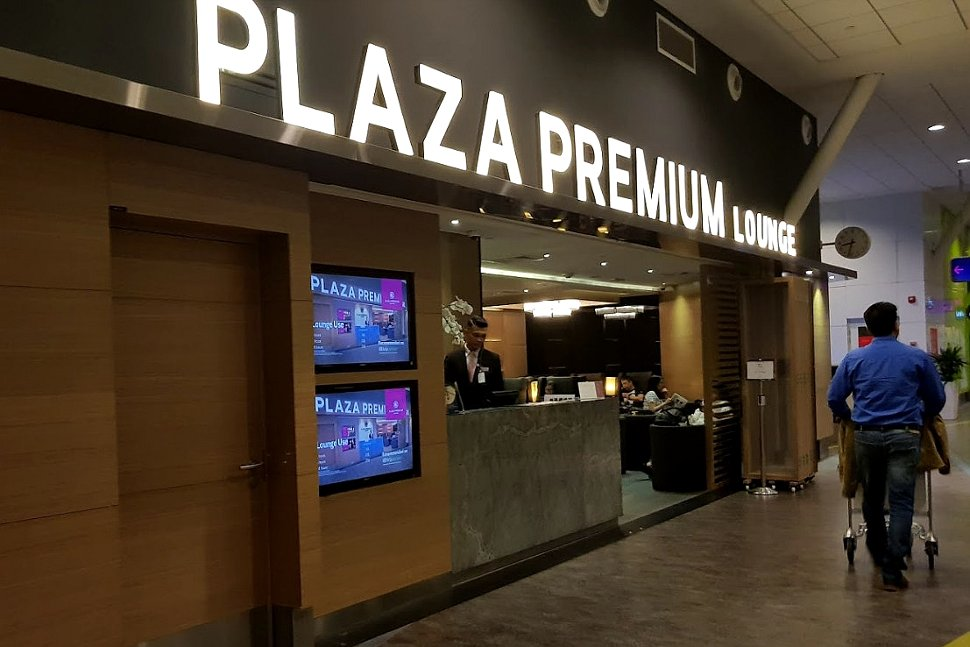 Plaza Premium Lounge located near Gate L8, Pier L