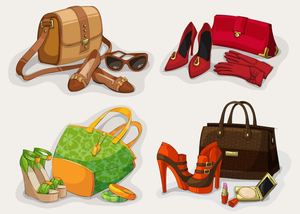 Shoes, bags and accessories shops at klia2